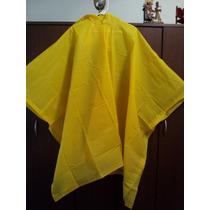 Piloto Para Lluvia Amarillo. Poncho- Capa Impermeable