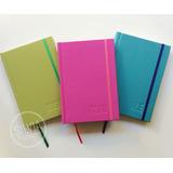 Cuadernos Personalizados 15x21cm Artesanales Hojas Lisas