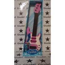 Guitarra Frozen Con Cuerdas, Luces Y Melodías