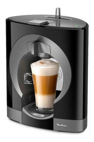 Cafetera Moulinex Nescafé Dolce Gusto Oblo Negra 220v