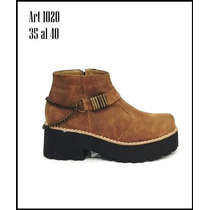 Botas Botinetas Borcegos Zapatos Con Plataforma