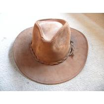 Sombrero Lagomarsino Cuero Natural