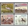 Fauna - Wwf - Aves - Malawi - Serie Mint (mnh)