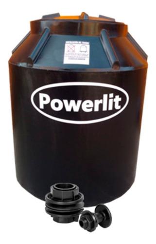 Tanque De Agua Powerlit Bicapa Vertical 470l 100cm De Alto