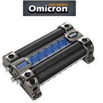 Capacitor Digital Boss 8 Faradios Led Azul P/ Potencia