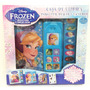 Frozen Libro Didactico Disney Con 3 Libros Y Sonidos