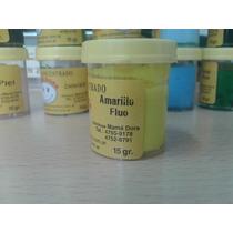 Pigmento Para Porcelana Amarillo Fluo