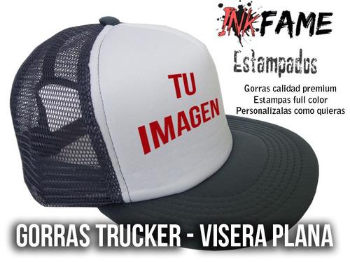 0439a34f3585c Gorra Trucker Personalizada Visera Plana Premium en venta en ...