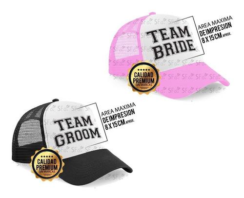 c2bb7bc164ad Gorra Personalizada Team Bride Squad Groom Despedida Soltera en ...