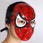Spiderman Plastic Mask! Para Disfraz De Hombre Araña! Marvel