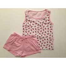 Pijama Nena 2-14 Años Rojo O Rosa Alouette