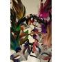 10 Mascaras Venecianas C/plumas Vs. Colores Carnaval Carioca