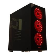 Gabinete Pc Gamer Vidrio Kit Noga Ng-8608 Con Fuente 600w