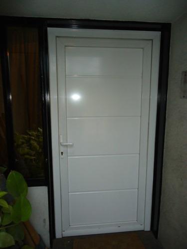 Puertas de exterior de pvc puertas exterior cerca amb - Puertas de entrada de pvc precios ...