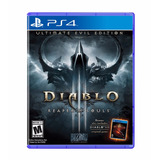 Juego Ps4: Diablo 3: Reaper Of Souls - Ultimate Evil Edition