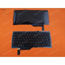 Teclado Retroiluminado Macbook Pro A1398 En Español