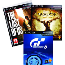 Juegos Play3 Last Of Us Gt6 God Of War Nuevos Fisico Combox3