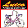 Bicicleta Rod 16 Flowers Nena Rueditas - Local Calle - Gtia