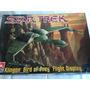Star Trek Klingon Bird Of Prey Flght Disp Model Kit Amt Ertl