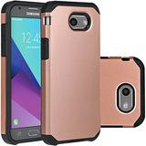 Samsung Galaxy J3 Emerge Estuche Rose Gold / J3 Prime / J3 2