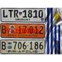 Antiguas Patentes De Uruguay Originales!