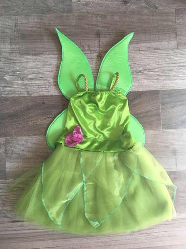 Disfraz Vestido Campanita Tinkerbell En Venta En Vicente