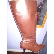 Botas Marca Argentinian Shoes Chocolate Cuero