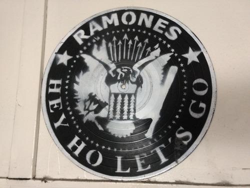 Disco Vinilo Decorativo Ramones Stencil En Venta En Palermo
