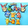 Pokemon Jibbitz & Pins Para Crocs. Importados Usa 4 X $25