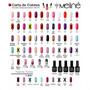 Esmalte Meline Nuevos Colores Gel Uv/led  Semip. X 15 Ml