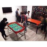 Alquiler De Juegos Metegol Pool Tejo Ping Pong Arcade Tv Ps4