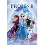 Posters Cine Frozen 2 Disney Peliculas Lona 120x80 Cm