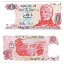Argentina, Billete De 1 Peso Argentino, Bottero 2601, -sc-
