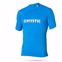 Lycra Mystic Remera Manga Corta De Kite Surf Kayak Rash Vest