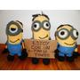 Minions Amigurumis - Tejido Al Crochet Stuart - Kevin - Bob
