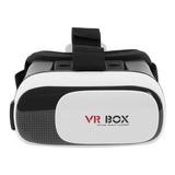 Vr Box Anteojos 3d Realidad Virtual Gafas Casco Para Celular