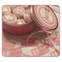 Lata Central C/cinta + 30 Jabones + 30 Tarjetitas- Souvenirs