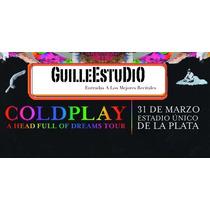 Entradas Coldplay Campo La Plata Estadio Unico