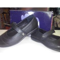 Zapatos Guillermina Colegial Marcel Cuero 34/40 Nenas Niñas