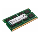 Memoria Sodimm 8gb Kingston 1600mhz Ddr3 Tienda