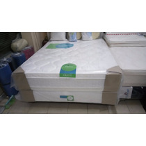 Colchon Topacio Simetric Con Pillow 190x140 Resort Envio S/c