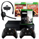 Consola Xbox One 1tb 2 Joystick Rainbow Six Headset Envio