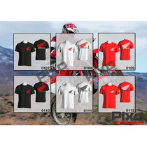 Remeras Estampadas Honda - Motocross + Calco De Regalo