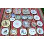 Coleccion De 21 Platitos En Porcelana: Todos En $ 1499