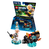 Lego Dimensions - Doc Brown - Back To The Future Fun Pack
