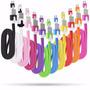 Cable De Datos Usb V8 Flat Color Chatitos