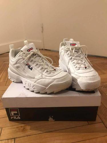 Cantidad limitada amplia selección de colores la venta de zapatos Zapatillas Fila Disruptor Originales Como Nuevas en venta en ...