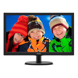 Monitor Philips 223v5lhsb Lcd 21.5  Negro 110v/220v