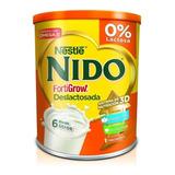 Leche De Fórmula En Polvo Nestlé Nido Deslactosada En Lata De 800g