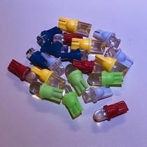 Lampara Led T10 W5w Verre 2825 12v Luz Posicion Auto Colores